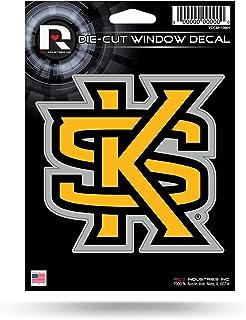 ملصق فينيل مقطوع بالقالب NCAA Kennesaw State Owls