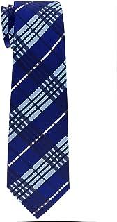 Retreez Stylish Tartan Plaid Check Woven Boy's Tie - 8-10 years