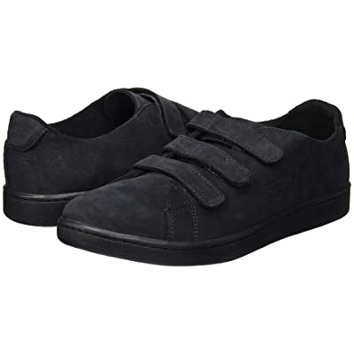 Lacoste Carnaby Strap 218 1 U (Black/Black) Men