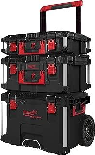 Milwaukee 4932464244 3piece Packout Storage System Set