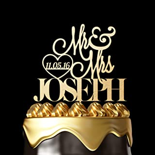 Best champagne cake topper Reviews