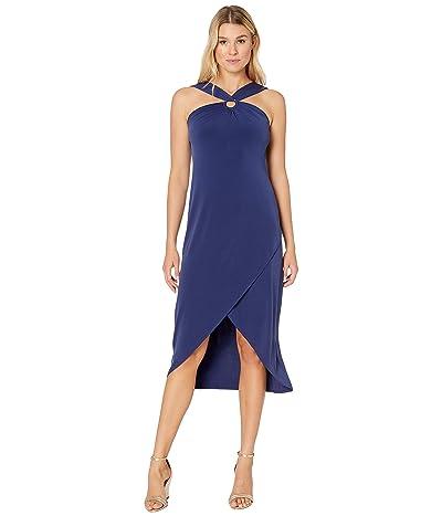 Tommy Bahama Carmela Halter Maxi Dress (Island Navy) Women