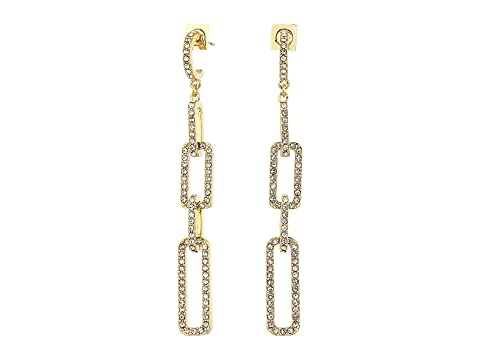 48a866605ca Vince Camuto Pave Link Post Linear Earrings at Zappos.com