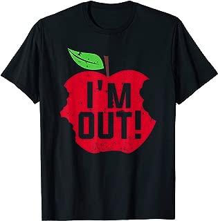 Im Out Last Day of School Summer Break Teacher T-Shirt