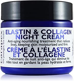 Carapex Elastin & Collagen Anti Aging Night Cream, Firming Anti-Wrinkle Face Cream for Dry to Combination and Sensitive Sk...