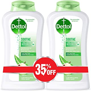 Dettol Soothe Anti-Bacterial Body Wash 250ml Twin Pack At 35% Off