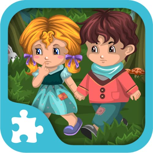 Hansel & Gretel puzzles - livre