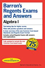 Regents Exams and Answers: Algebra I (Barron's Regents NY)