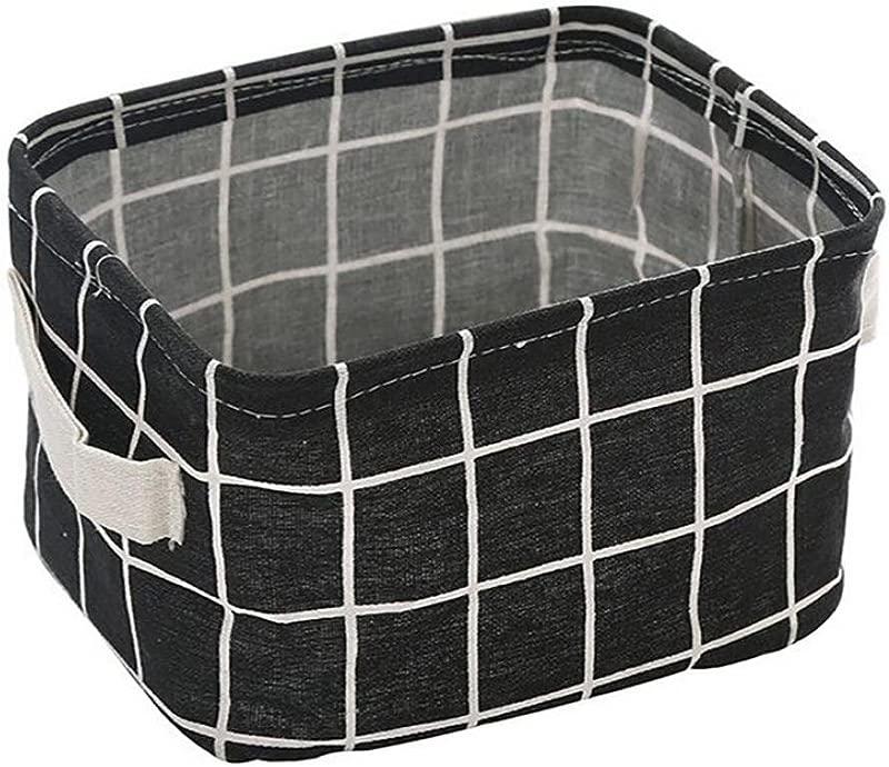 Haoricu Storage Basket 2018 Foldable Storage Bin Fabric Basket Closet Toy Boxs Container Home Bedroom Organizer