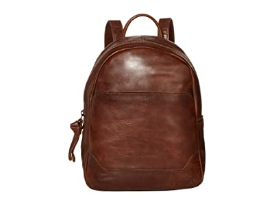 Frye Melissa Medium Backpack (Dark Brown) Backpack Bags