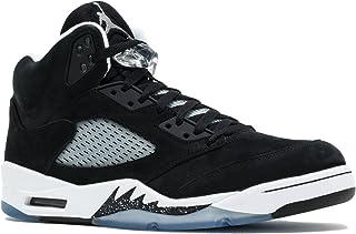 Air Jordan 5 Retro 136027-035 - Zapatillas Deportivas de Cuero para Hombre