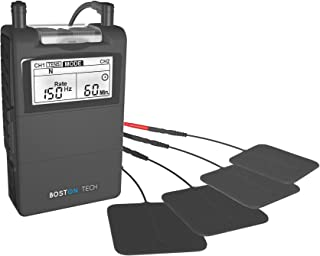 comprar comparacion Boston Tech ME-89 Plus - Electroestimulador Muscular Digital TENS - EMS Digital de Dos Canales, 24 programas Pre-estableci...
