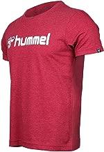 Hummel Erkek HMLSHANK S/S T-Shirt, Kırmızı, M