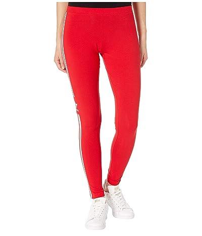 adidas Originals Trefoil Tights (Scarlet) Women