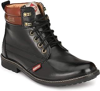Andrew Scott Men's Black Sneakers-10 UK (44 EU) (11 US) (1201BLACK)