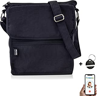 ab6bca81db Travel Crossbody Purse - Hidden RFID Pocket - Includes Lifetime Lost    Found ID