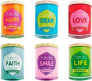 DISOK - Vela Frase Colores For Home - Velas, Velitas Originales Fragancias para Regalos, Detalles y Recuerdos para Bodas, ...