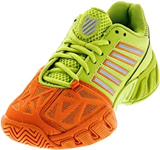 K-Swiss Kids Unisex Bigshot Light 3 (Little Kid/Big Kid) Orange Popsicle/Lime Punch Athletic Shoe