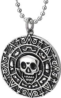 Collana universale personalizzata con ciondolo in acciaio inossidabile per uomo e collana con tutti i fiammiferi