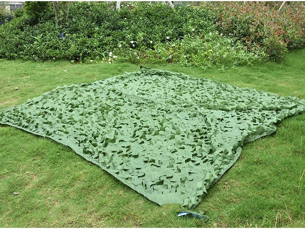 Camo Netting with Credence Mesh Backing 3X4m 13ft 10ft - X 2021 Green Milita