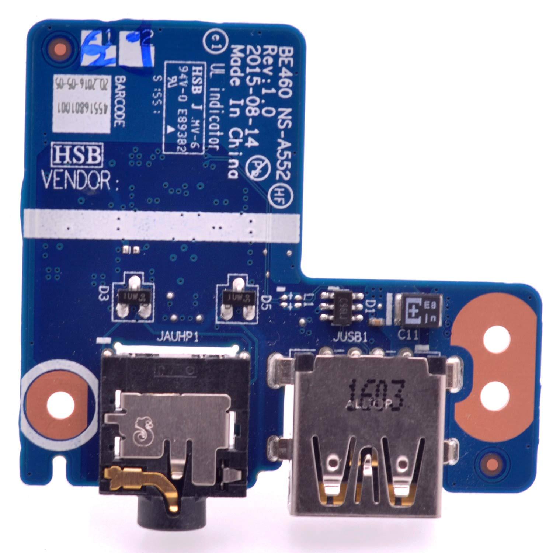 Audio USB Board Lenovo Thinkpad E460 E465 NS-A552 01AW173