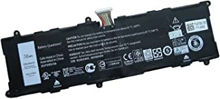 Dentsing Compatible Laptop Battery with Dell 2H2G4 (7.4V 38Wh/4980mAh) Venue 11 Pro 7140 Series Notebook 21CP5/63/105 2217-2548