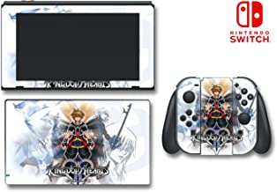 Kingdom Hearts 3 III HD 1.5 2.5 3D 358/2 Video Game Vinyl Decal Skin Sticker Cover for Nintendo Switch Console System