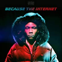 ultimate poster ALBUM COVER POSTER CHILDISH GAMBINO: BECAUSE THE INTERNET 12x18 inch rolled