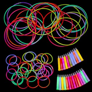 Kicko 75 Pieces Glow Sticks Assortment - Value Pack - Cool a