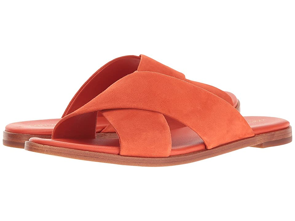 Cole Haan Anica Crisscross Sandal (Spicy Orange Suede) Women