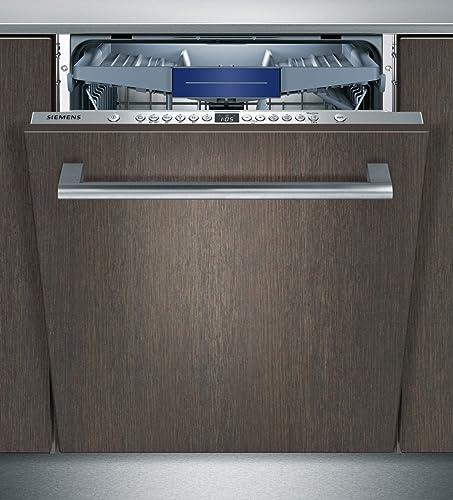 Lave vaisselle encastrable Siemens SN636X01KE - Lave vaisselle tout integrable 60 cm - Classe A++ / 46 decibels - 13 ...