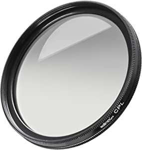 Walimex Pro circular polarizing filter  glass hardened and tempered mu...