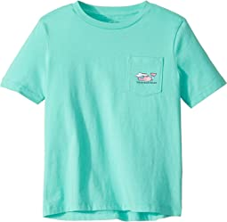 Short Sleeve Vacation Whale Pocket Tee (Toddler/Little Kids/Big Kids)