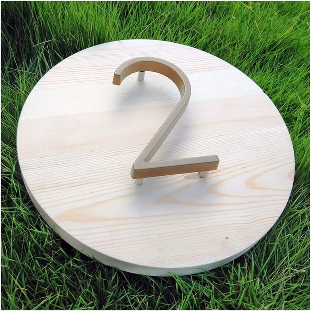 Useful shipfree 127mm Brown Gold 2021 autumn and winter new Floating Modern Home A House Number Door
