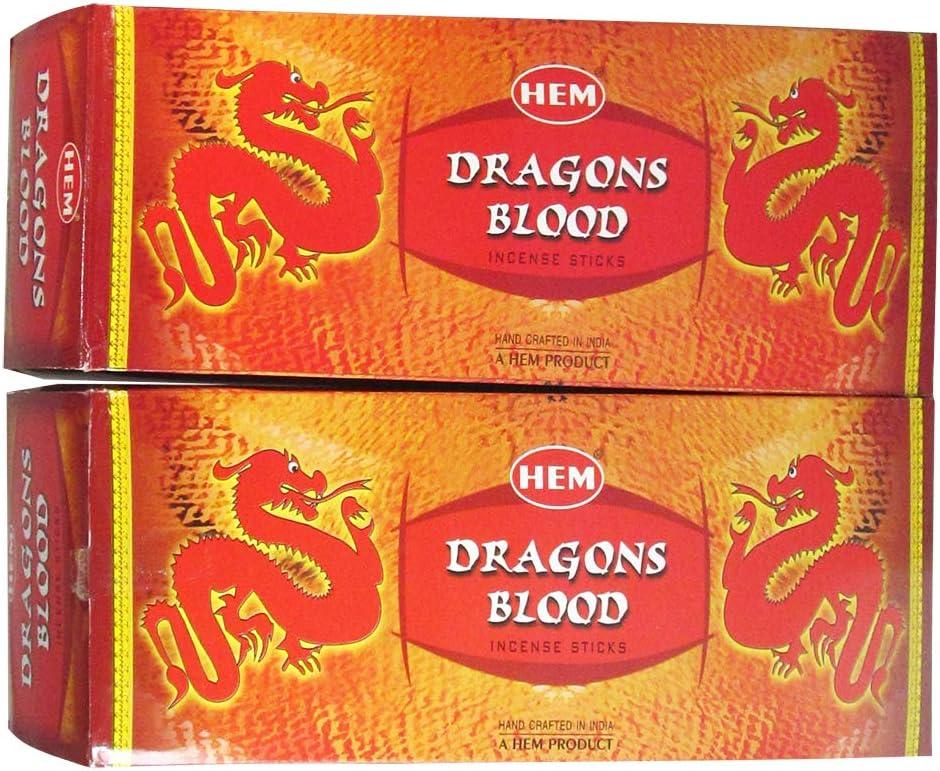 HEM Hand Rolled Fine Quality Dragon's Blood Incense Sticks For P