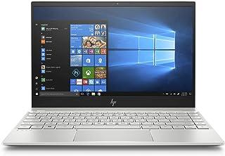 HP Envy 13-ah1000ne Laptop, Intel Core i5-8265U, 13 Inch, 128GB SSD, 8GB RAM, Intel UHD Graphics, Win 10, Eng-Ara KB, Silver