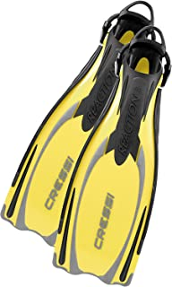 Cressi Powerful Open Heel Adult Scuba Diving Fins | Reaction EBS made in Italy