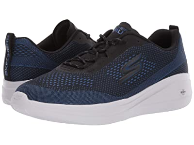 SKECHERS Go Run Fast Arco 55105 (Black/Blue) Men