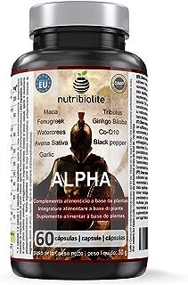 Alpha - Fuerza + Energía + Masa Muscular Suplemento