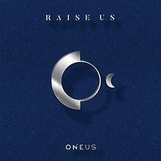 K-POP ONEUS - 2nd Mini Album [Raise US] (Dawn version) CD + Photobook + Postcard + Photocard + Folded Poster