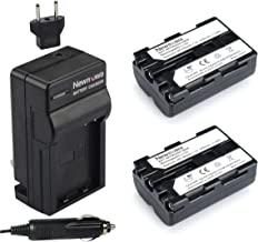 Newmowa NP-FM500H Replacement Battery (2-Pack) and Charger kit for Sony Alpha A57 A58 A65 A77 A99 A550 A560 A580 A700 A850 A900 Sony SLT a99 II