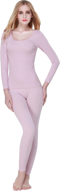 RUIDI Women's Thermal Underwear Set Top & Bottom