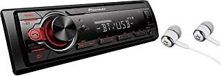 Pioneer MVH-S21BT Stereo Single DIN Bluetooth in-Dash USB MP3 Auxiliary AM/FM Android Smartphone Compatible Digital Media ...