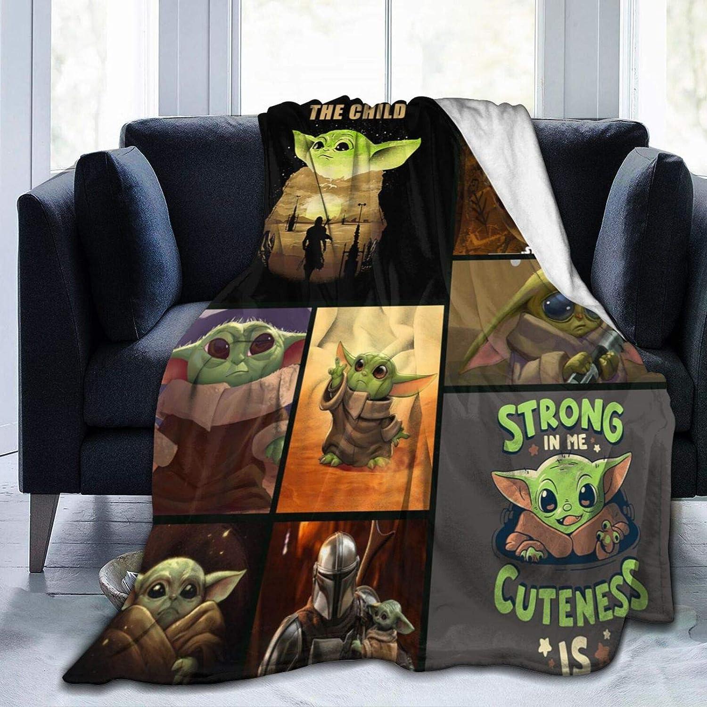 LOVE YOU Mandalorian Baby Yodas Fleece Cozy B Houston Mall Soft Blanket Throw online shopping