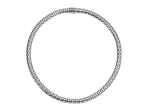 John Hardy Dot Small Chain Necklace with Pusher Clasp