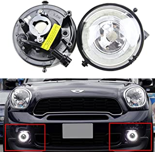 Mini DRL Daytime Running Light - LED DRL Daytime Running Light Halo Ring LED Fog Lamp Kit For Mini Cooper R55 R56 R58 R60 Countryman R61 Paceman F56 Super Bright Led Driving Lamps