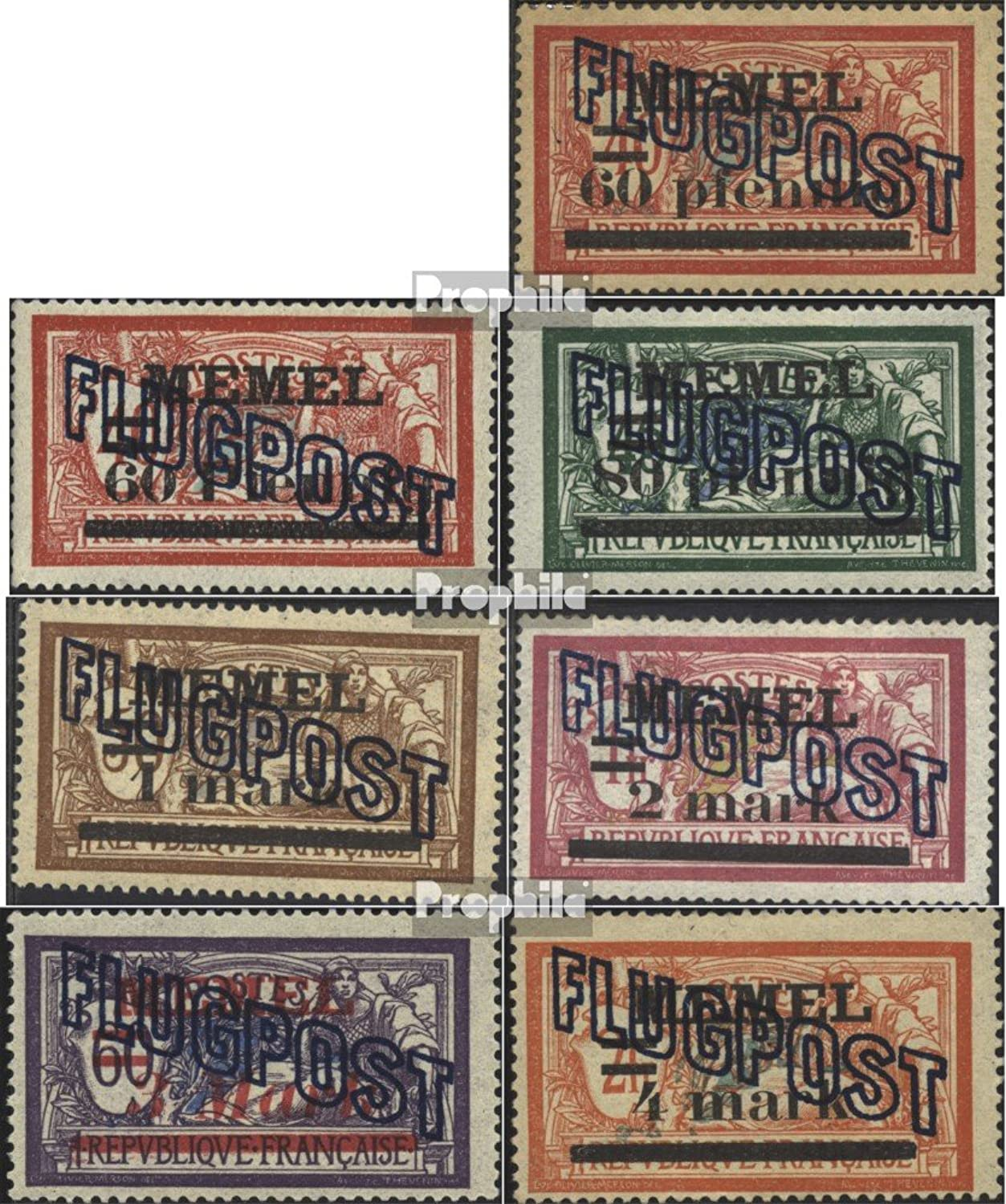 Memelgebiet 4046 (complete.issue.) 1921 print edition (Stamps for collectors)