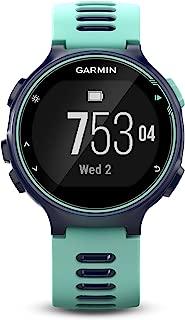Garmin Forerunner 735XT, Multisport GPS Running Watch with Heart Rate, Midnight/Frost Blue