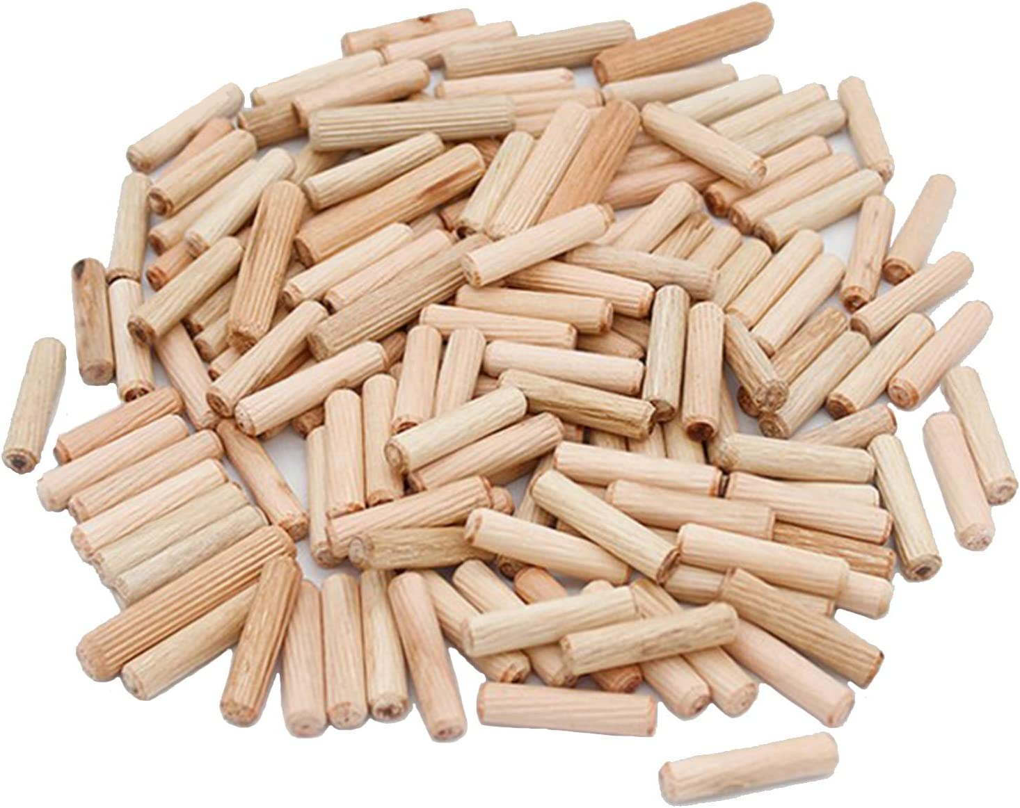 Hezhu Lot de 500 chevilles en bois Pour fraise /à lamellos 6 mm 10 mm 8 x 30 mm meuleuse ma/ître chevilleuse 8 mm