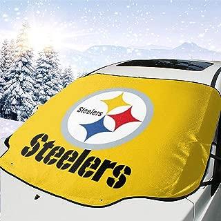 Sorcerer Custom Car Front Windshield Sun Shade Cover Dallas American Football Team Car Windsheild Snow Cover Wiper Protector UV Rays Sun Visor Keeps Vehicle Cooler